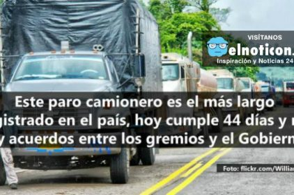 Hoy se cumplen 44 días del paro camionero