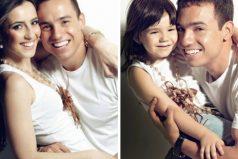 Padre ehija recrearon las fotografías con mamá luego deque ella falleciera