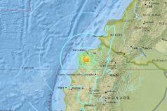 Dos sismos consecutivos sacuden el noroeste de Ecuador