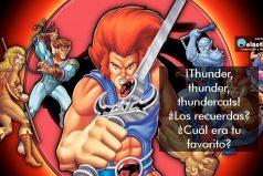 ¿Te gustaban los Thundercats?