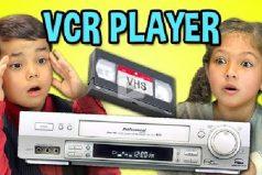 ¿Recuerdas el VHS? Like si viste películas o grabaste la novela. ¡Conoce las opiniones de los niños!