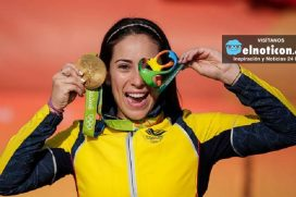 Las 'alas' que la llevaron a Mariana a ganar el oro ¡Es nuestra superheroína  !