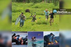 Estos fotógrafos son capaces de hacer cualquier cosa por una buena foto
