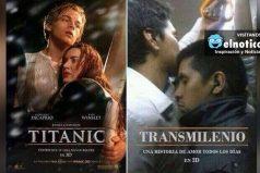 Titanic Vs. Transmilenio