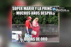Súper Mario y la Princesa muchos años después