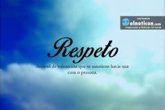 Definición de Respeto