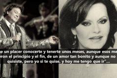 ¿Recuerdas los dúos de Juan Gabriel y Rocío Durcal? Escucha dos de sus canciones memorables