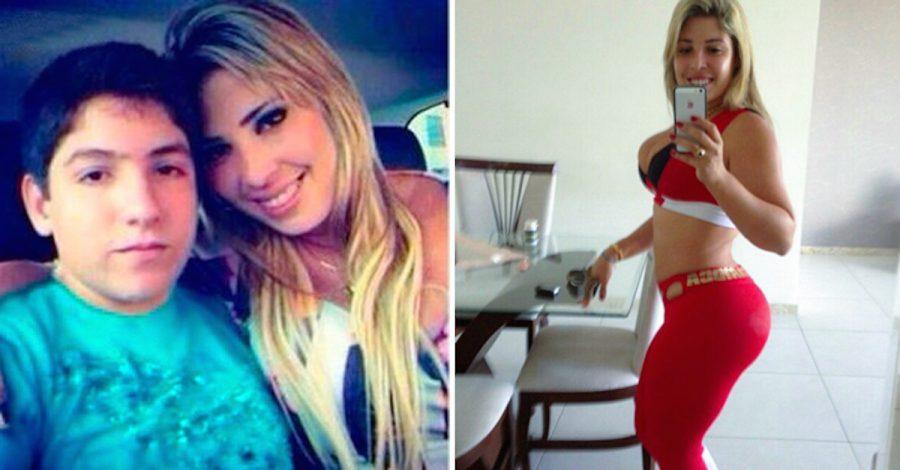 Ella es Monique Motta, la modelo de 30 años que ha levantado polémica por tener un novio de 13 años