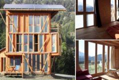Casa Solare: el hogar de los alpes y el sol