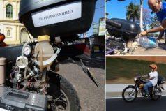 ¿Adiós a la nafta? Una nueva motocicleta utiliza agua como combustible