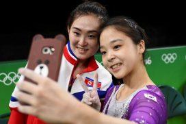 El selfie que unió a Corea del Norte y Corea del Sur en las Olimpiadas de Río 2016