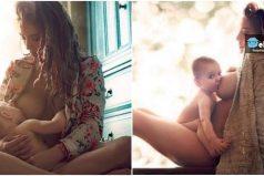 Fotos de mamás que demostraron lo bello y especial que es amamantar a sus hijos ¡Mágico!