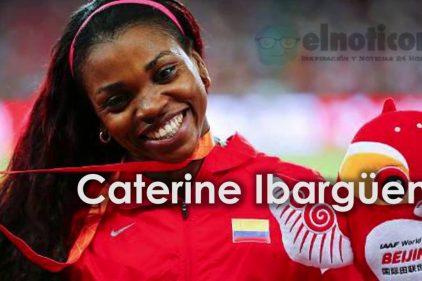 Caterine Ibargüen, Colombia te acompaña en cada salto ¡Salta hasta el cielo!