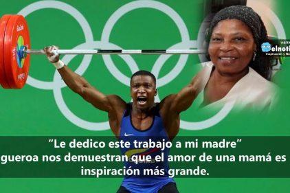 Óscar Figueroa le dedica la medalla de oro a su mamita ¡Que grande es el amor!