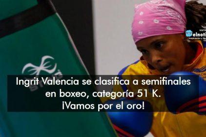 Ingrit Valencia, como mínimo nos regalará medalla de bronce en boxeo a los colombianos