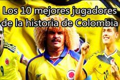 Los 10 mejores jugadores de la historia de COLOMBIA ¿Nos faltó algún jugador?