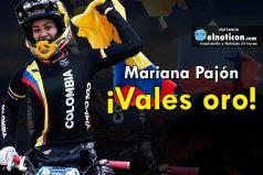 Mariana Pajón ¡Vales Oro!