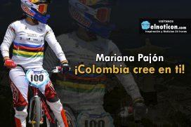 Mariana Pajón ¡Creemos en ti!