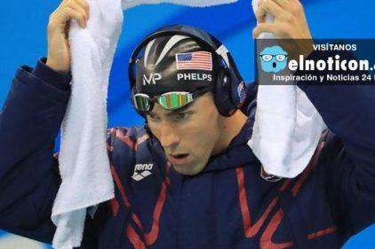 ¿Qué escucha Michael Phelps antes de salir a competir?
