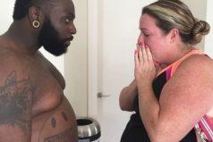 Este entrenador subió 30 kilos para perderlos junto a su clienta. Te sorprenderá ver cómo lucen hoy