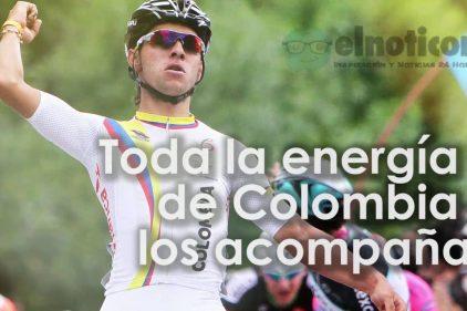 Nuestros ciclistas son sinónimo de disciplina y buen corazón ¡Manita arriba si los apoyas!