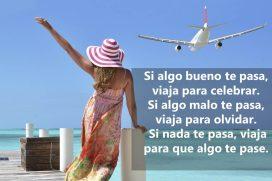 Viajar es cambiarte de ropa y alma ¿Te gustaría conocer otros países?