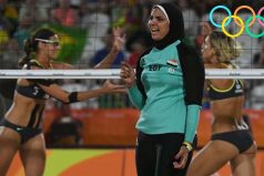 Esta impactante imagen revela el gran choque cultural que se da en los Juegos Olímpicos