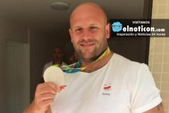 Subasta la medalla que ganó en Río para ayudar a niño con cáncer ¡Amamos la gente con buen corazón!