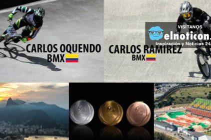 Carlos Oquendo y Carlos Ramírez, las dos opciones de medallas para Colombia ¡Creemos en ustedes!