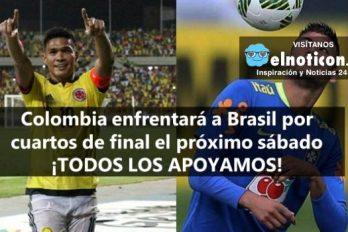 ¡Tenemos esperanza! Con corazón y amor por la camiseta Colombia enfrentará a Brasil