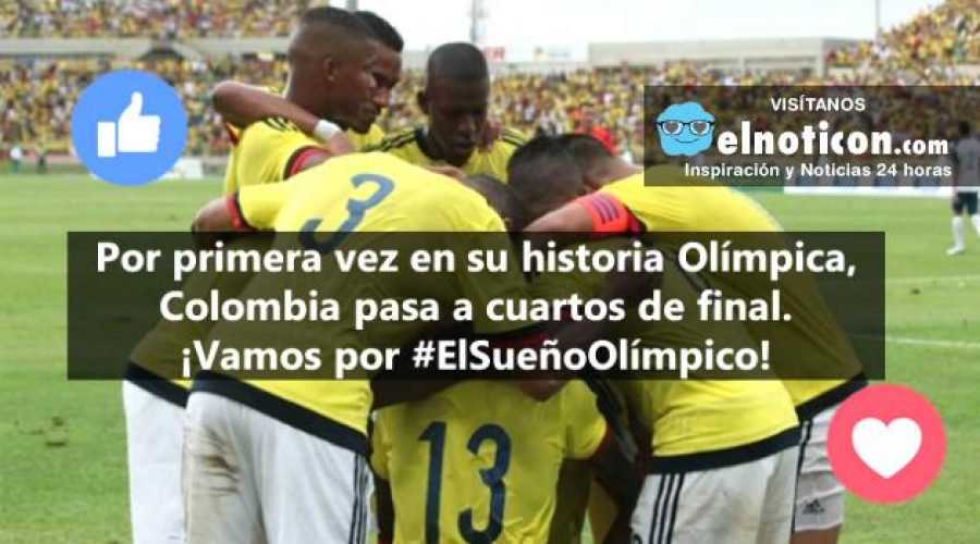 Colombia derrota a Nigeria y se clasifica a cuartos de final