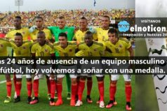 Selección Colombia masculina debuta hoy contra Suecia en Río 2016