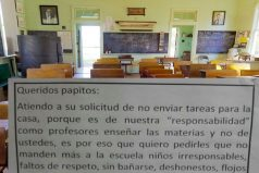 La polémica respuesta que unos profesores le dieron a padres que se quejaban por el exceso de tareas