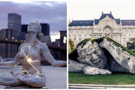 Impactantes esculturas que golpean la realidad de todos los que las contemplan