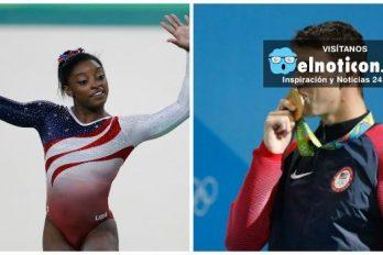 Michael Phelps y Simone Biles ¿Cuánto dinero ganaron y cuánto deben pagar en impuestos por sus medallas olímpicas?
