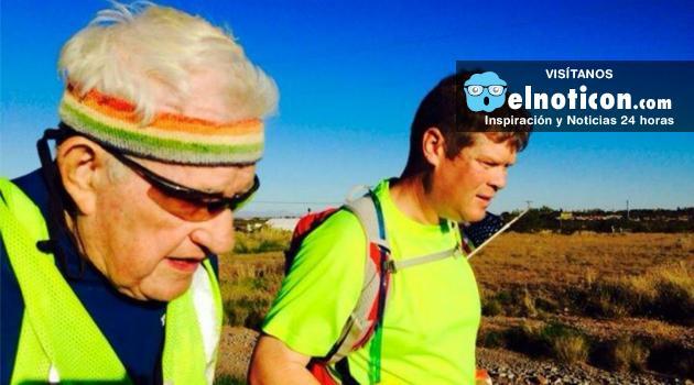 El hombre de 93 años que corrió por mil días y recorrió Estados Unidos ¡Que hazaña!