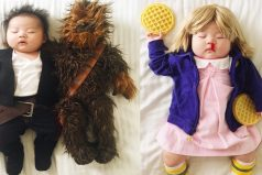Esta bebé no tiene idea de lo que su madre hace cuando ella duerme siesta