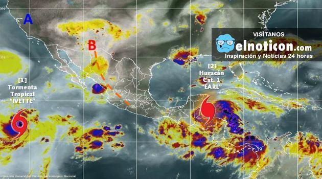 Alerta en México por amenaza del huracán 'Earl'