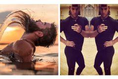 Hombres parodiando las típicas fotos de mujeres en Instagram