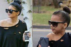 Conoce a la niña de 6 años que se viste exactamente igual de fabuloso que Kendall y Kyle Jenner