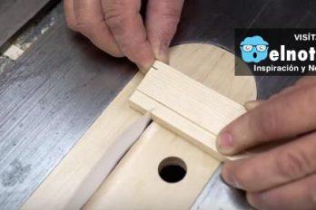 ¿Crees que es posible cortar madera o cartón con una hoja de papel?