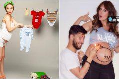 10 papás que fotografiaron de manera muy creativa la espera de su bebé ¡Mucha ternura y amor!