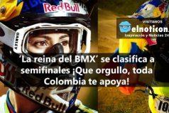 Mariana Pajón una esperanza de medalla de oro para Colombia