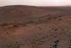 El espectacular video 360º que publicó la NASA de las colinas de Marte