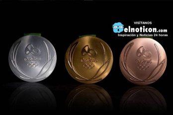 Así se fabricaron las medallas de los Juegos Olímpicos Río 2016