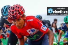 Nairo Quintana gana etapa y es nuevo líder de la Vuelta España ¡IMPRESIONANTE!