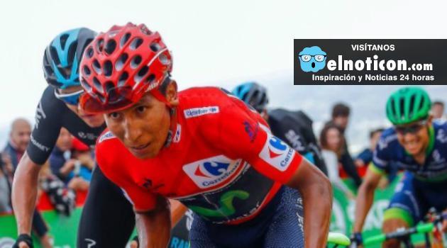 Nairo Quintana gana etapa y es nuevo líder de la Vuelta España
