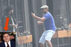 Leonardo DiCaprio se hace pasar por un fan lunático y le hace una épica broma a Jonah Hill