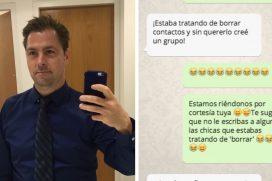 Este 'galán' de Tinder añadió por error a 250 de sus 'conquistas' al mismo grupo de WhatsApp