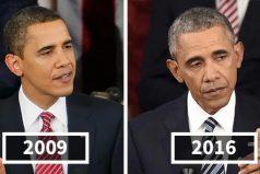 Así han envejecido estos presidentes de Estados Unidos durante su mandato. Sí, el estrés mata